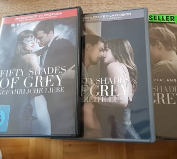 Fifty Shades of Grey Alle 3 Filme