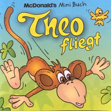 McDonald's Minibuch Theo fliegt