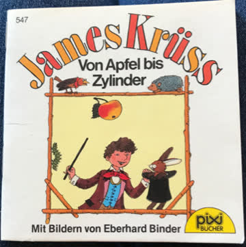 Pixi: James Krüss Von Apfel bis Zylinder