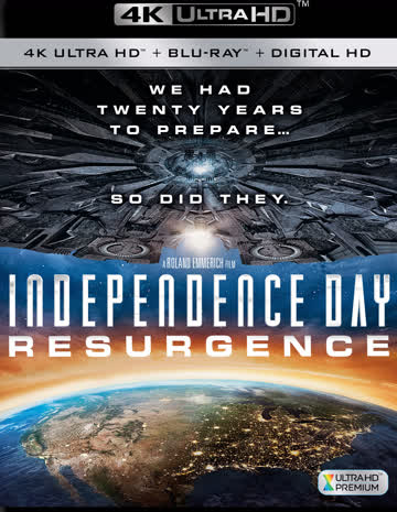 Independence Day 2 Resurgence 4K UHD Blu-ray Film