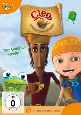 Cleo und die Kunstpiraten, Folge 3 - Der goldene Gecko