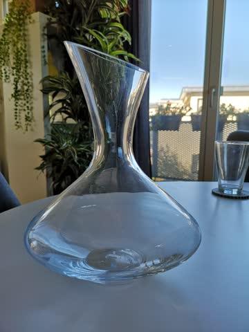 NEW Glass wine decanter