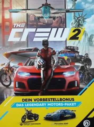 The Crew 2 Legendary Motors-Paket PS4/PC/Xbox One