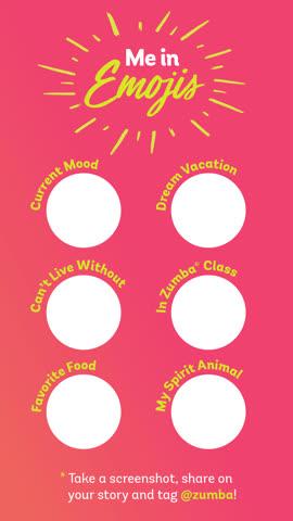 Zumba Abonnement Gutschein für 8 Lektionen (Chur)