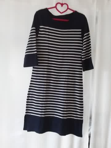 Kleid Marine stil