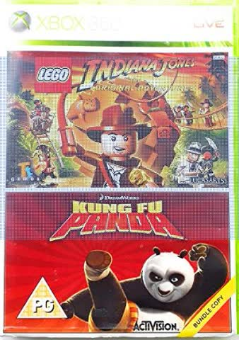XBOX 360 - Indiana Jones - Kung Fu Panda