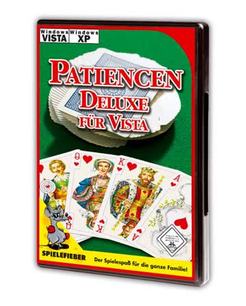 Patiencen Deluxe für Vista, CD-ROM Für Windows XP, Vista