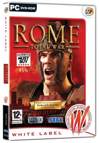 Rome: Total War - White Label (PC DVD)