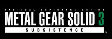 Metal Gear Solid 3: Subsistence (PS2) UK IMPORT
