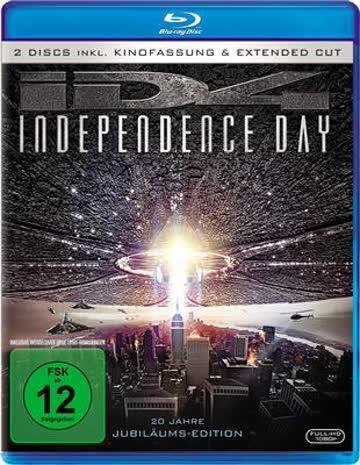 Independence Day Blu-ray Deutsch (nur Disc)