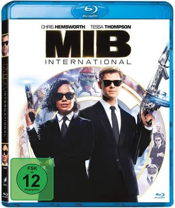 Men in Black International Blu-ray, Deutsch, nur Disc