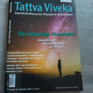 Tattva Viveka Nr 76, Sep 2018