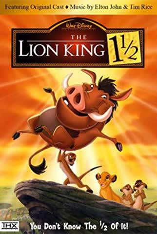"Disneys' ""The Lion King Trilogy"" (Lion King 1 1/2 & Lion King 2)"