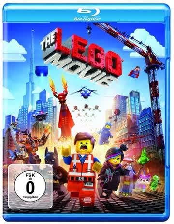 The Lego Movie Blu-ray Deutsch, nur Disc