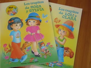 Zwei Hefte zum schneiden