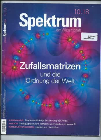 Spektrum der Wissenschaft... 10/2018