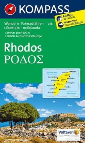 Kompass Karten: Rhodos