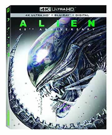 Alien 40th Anniversary [4K Ultra HD + Blu-ray]