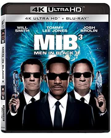 Men In Black 3 (4K Ultra HD + Blu-ray) Italian Import
