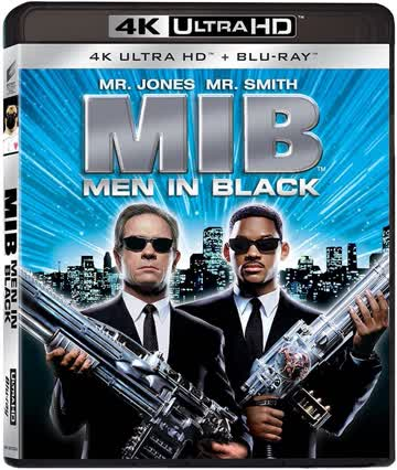 Men In Black (4K Ultra HD + Blu-ray) Italian Import
