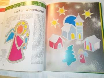 Riesenfensterbilder zu Weihnachten
