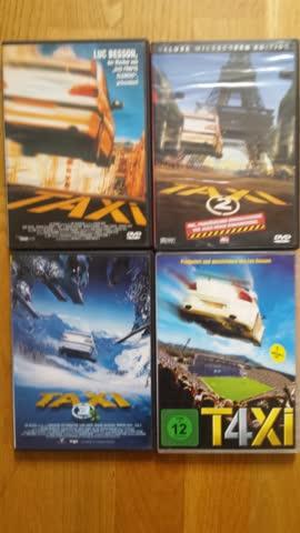 Taxi 1 bis 4, DVDs deutsch