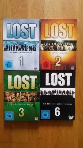 Lost Staffeln 1, 2, 3 und 6