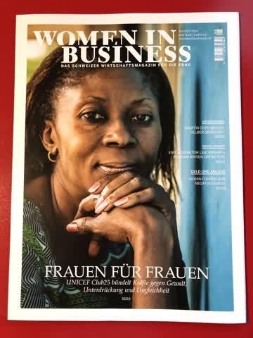 Women in Business - Wirtschaftsmagazin für Frauen - Aug 19