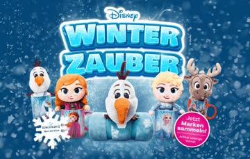 1 Sammelkarte mit 40 Sammelmarken - Disney Winterzauber