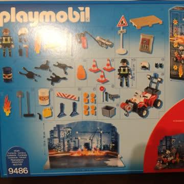 Neuer Playmobil Adventskalender Feuerwehr