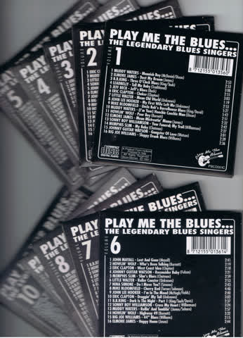 Play me the Blues - 10 CD-Box - The Legendary Blues Singers