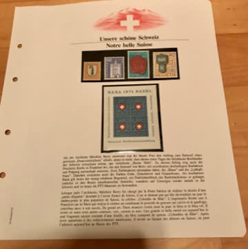 Schweizer Briefmarken