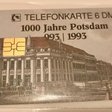 Telefonkarte 1993 Potsdam