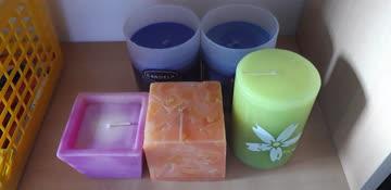 Duftkerzen 5 Stück