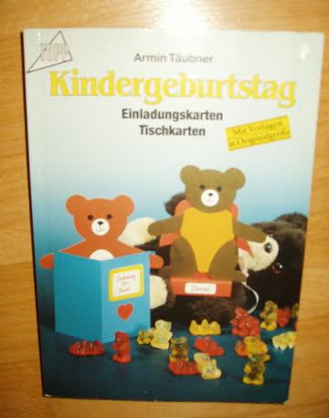 Kindergeburtstag - Einladungs- und Tischkarten