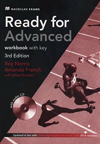 Ready for Advanced 3rd edition Workbook with key Pack (Ready for 3rd Edit)