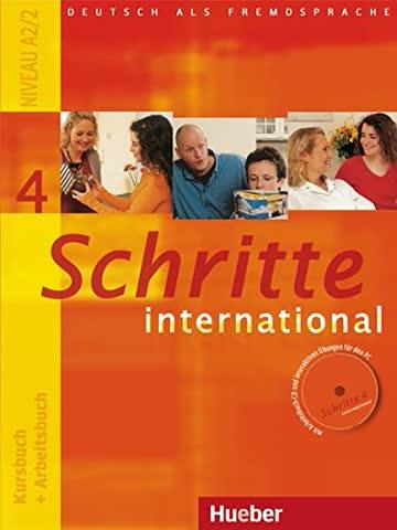 Schritte international 4: Deutsch als Fremdsprache / Kursbuch + Arbeitsbuch mit Audio-CD zum Arbeitsbuch und interaktiven Übungen