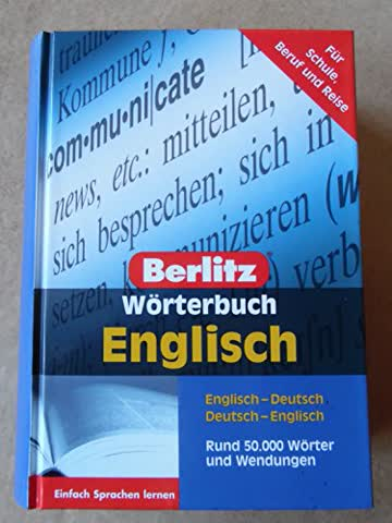 Berlitz Wörterbücher. Englisch