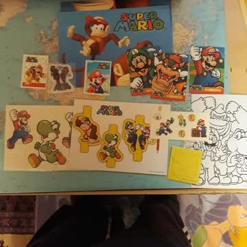 Super Mario Fan Sachen Poster Sticker usw.