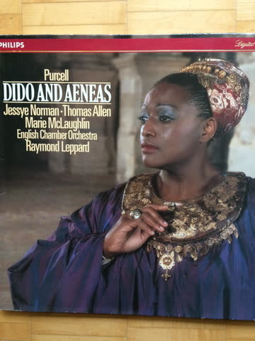 Dido and Aeneas, Henry Purcell, mit Jessye Norman, Vinyl