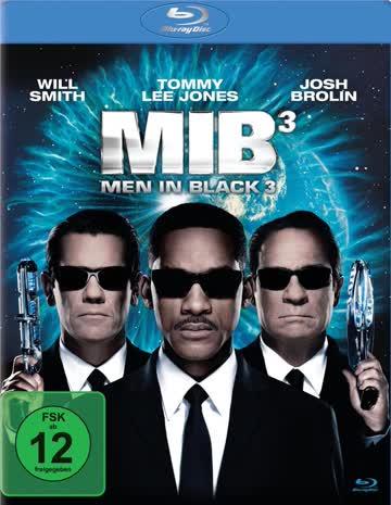 Men in Black 3, Blu-ray, deutsch, nur Disc