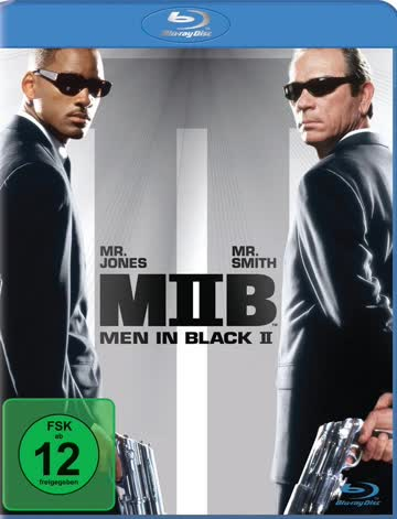 Men in Black 2, Blu-ray, Deutsch, nur Disc, MIB 2