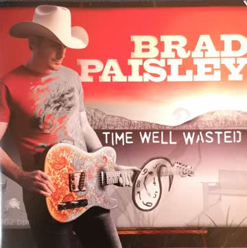 "Brad Paisley ""Time Well Wasted"""