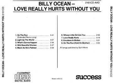 Billy Ocean: Love really hurts without you