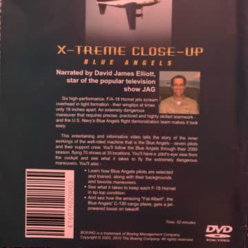 Blue Angels; x-treme Close-Up