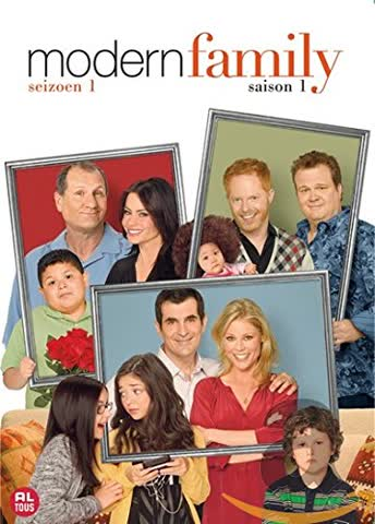 MODERN FAMILY - saison 1 - Coffret 4 DVD
