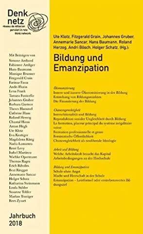 Jahrbuch Denknetz 2018: Bildung und Emanzipation