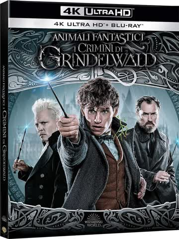 Animali fantastici 2 [4K Ultra HD + Blu-ray]