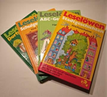 4 x Leselöwen Bücher für Kinder (Loewes Verlag)