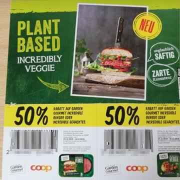 50% Rabatt Garden Gourmet